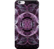 Lightly Swirling Purples and Blues iPhone Case/Skin