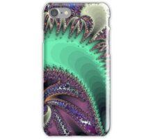 Jeweled Purple With Aqua iPhone Case/Skin