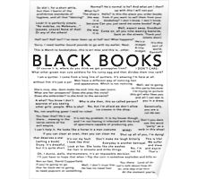 Black Books - Quotes Poster