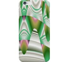 Green Stalactites in Abstract iPhone Case/Skin