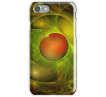 Green Oil Red Water iPhone Case/Skin