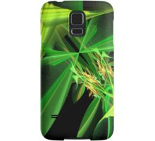 Green Flying Insect Abstract Samsung Galaxy Case/Skin
