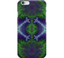 Green and Purple Electricity iPhone Case/Skin