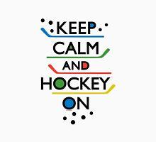 Keep Calm and Hockey On - white T-Shirt