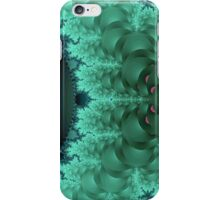 Green Abstract Lily Pads iPhone Case/Skin