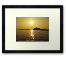 Afternoon in Tidung Island, Indonesia Framed Print