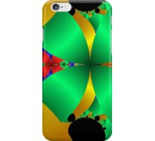 Folded Green Cones With Gold iPhone Case/Skin