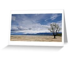 Excenevex Plage, Rhone Alpes, France Greeting Card