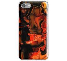 Fiery Jigsaw iPhone Case/Skin