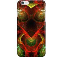 Fiery Fractal iPhone Case/Skin