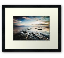 Sunset at Playa Yankee, Nicaragua Framed Print