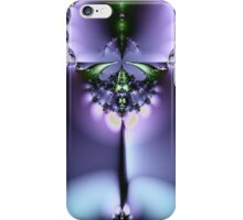 Emerald and Purple Abstract iPhone Case/Skin