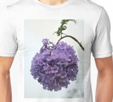Ball of Jacaranda Flowers Unisex T-Shirt