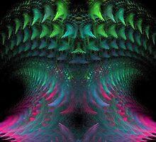 Digital Jellyfish by pjwuebker
