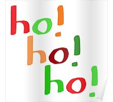Ho! Ho! Ho! Poster