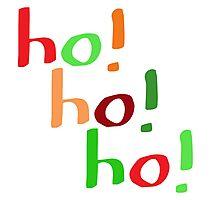 Ho! Ho! Ho! Photographic Print