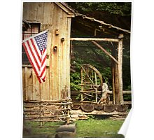 Cuttalossa Cabin Poster