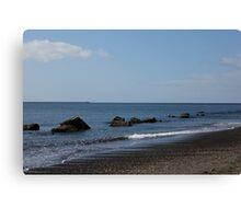 Peaceful Ocean Retreat Canvas Print