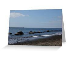 Peaceful Ocean Retreat Greeting Card