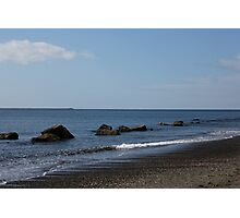 Peaceful Ocean Retreat Photographic Print