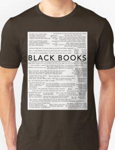 Black Books - Quotes Unisex T-Shirt