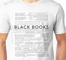 Black Books - Quotes Unisex T-Shirt