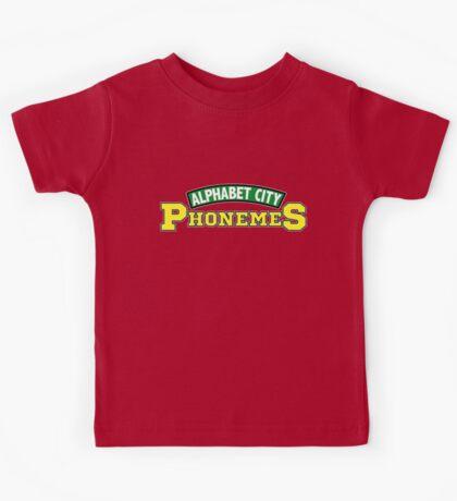 Alphabet City Phonemes Kids Tee