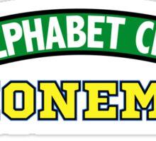 Alphabet City Phonemes Sticker