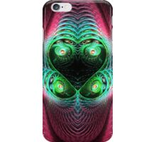 Colorful Four Eyes Abstract iPhone Case/Skin