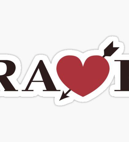 RA<3E Sticker