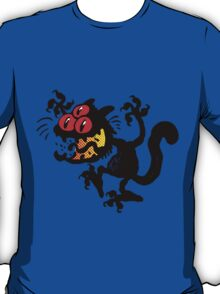Cartoon Scaredy Cat T-Shirts by Cheerful Madness!! T-Shirt