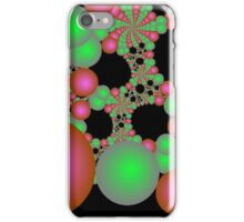 Bright Green and Pink Orbs iPhone Case/Skin