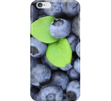 Blueberries iPhone Case/Skin