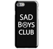 Sad Boys Club {FULL} iPhone Case/Skin