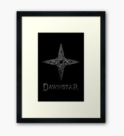 Dawnstar Framed Print