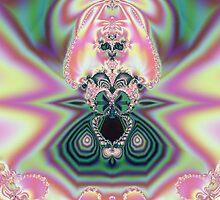 Abstract Pink Princess by pjwuebker