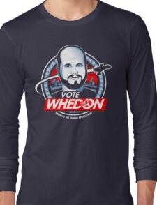 Vote Whedon  Long Sleeve T-Shirt