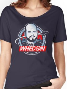 Vote Whedon  Women's Relaxed Fit T-Shirt