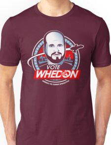 Vote Whedon  Unisex T-Shirt