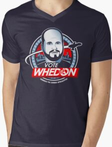 Vote Whedon  Mens V-Neck T-Shirt