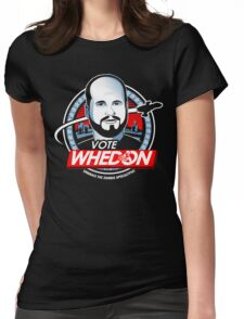 Vote Whedon  Womens Fitted T-Shirt
