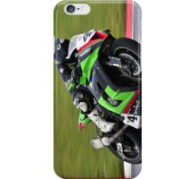 green viper iPhone Case/Skin
