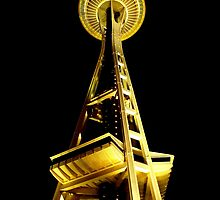 Space Needle by artisandelimage