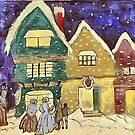 Christmas Visiters by Gilberte