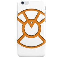 Orange Lantern Insignia iPhone Case/Skin