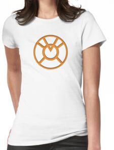 Orange Lantern Insignia Womens Fitted T-Shirt