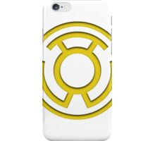 Yellow Lantern Insignia iPhone Case/Skin