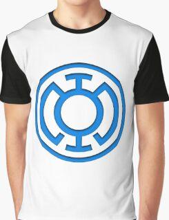 Blue Lantern Insignia Graphic T-Shirt