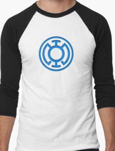 Blue Lantern Insignia Men's Baseball ¾ T-Shirt