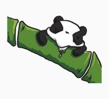Drooling Panda by ChubbieBunnie